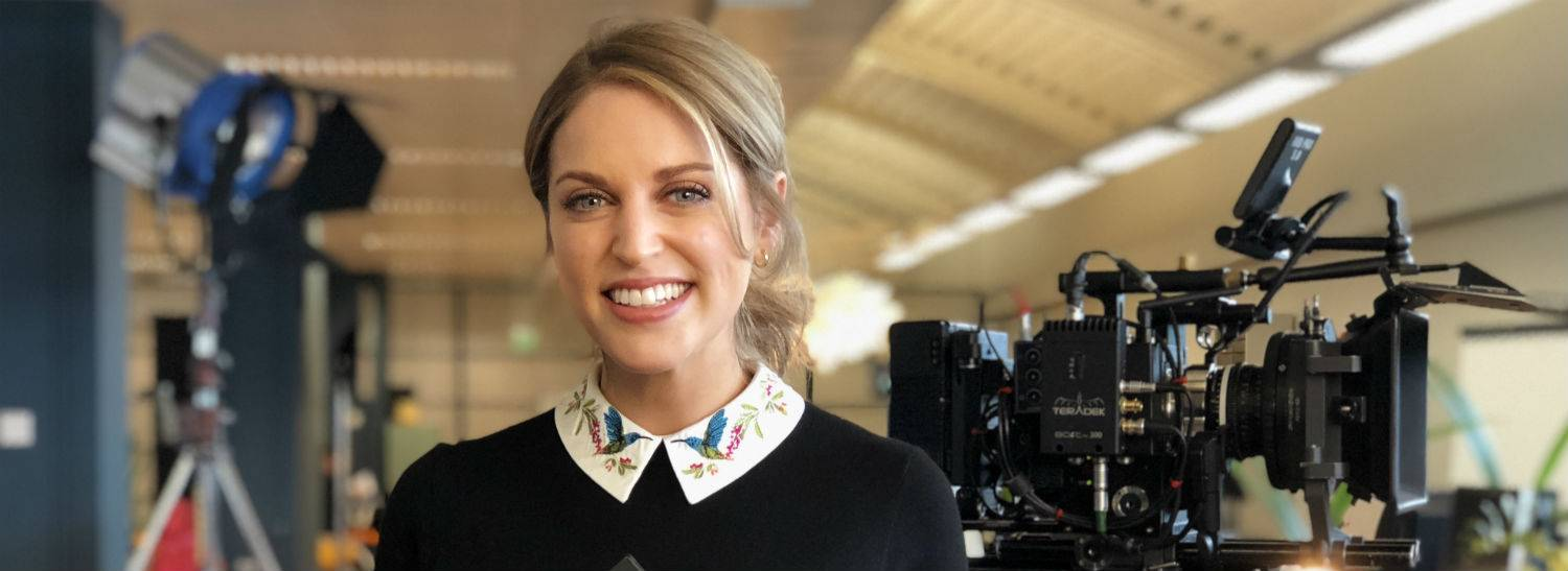 Amy Huberman Joins Special Guests for Fís TV Summit