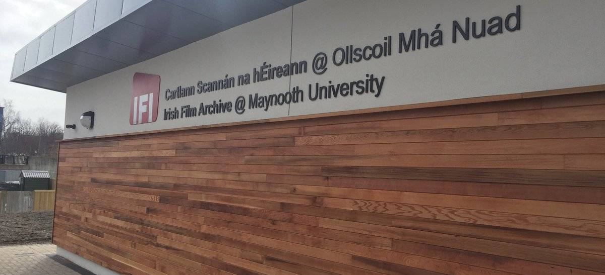 State-of-the-art Preservation Facility, IFI Irish Film Archive, Opens at Maynooth University