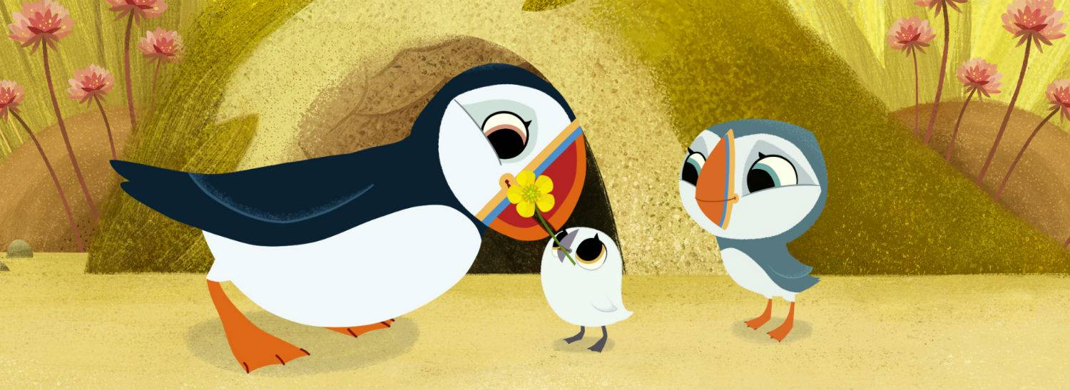 Irish Animated Series, Puffin Rock, Arrives in China