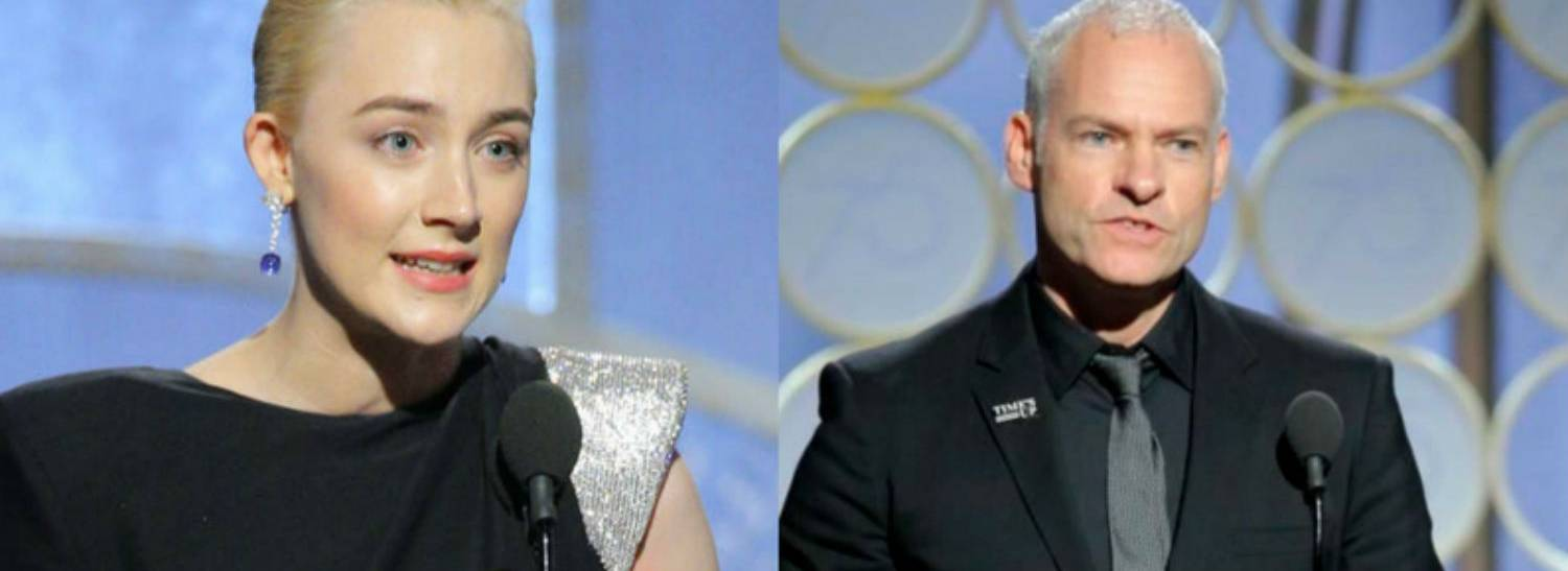 Bord Scannán na hÉireann/the Irish Film Board Congratulates Saoirse Ronan and Martin McDonagh on Golden Globe Accolades